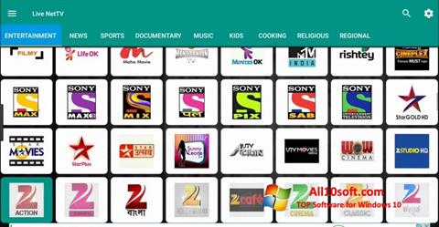Captura de pantalla Net TV para Windows 10