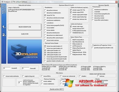 Captura de pantalla 3D-Analyze para Windows 10