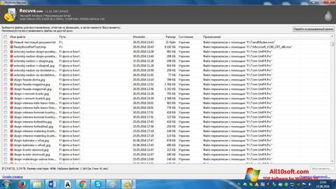 Captura de pantalla Recuva para Windows 10