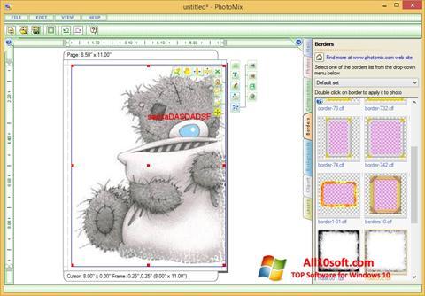 Captura de pantalla PhotoMix Collage para Windows 10