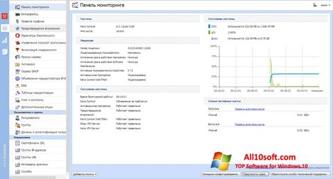 Captura de pantalla Kerio Control para Windows 10