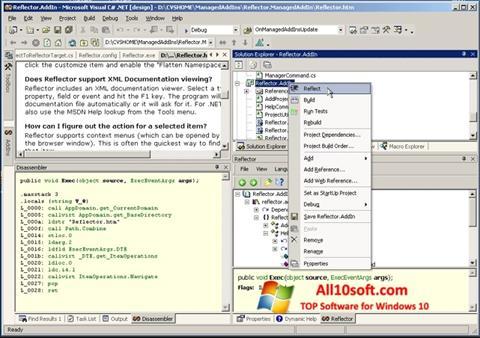 Captura de pantalla Reflector para Windows 10