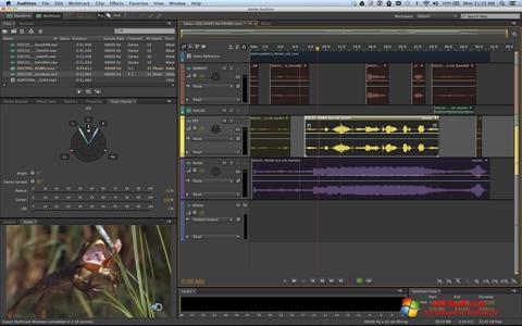 Captura de pantalla Adobe Audition para Windows 10
