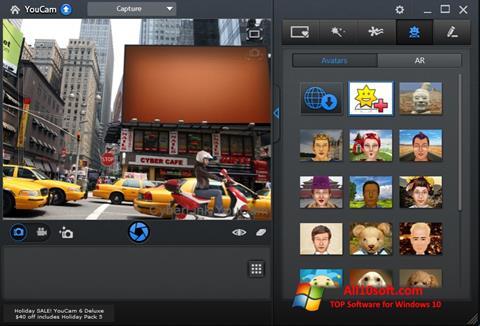 Captura de pantalla CyberLink YouCam para Windows 10