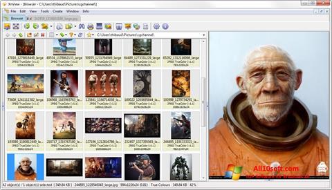 Captura de pantalla XnView para Windows 10