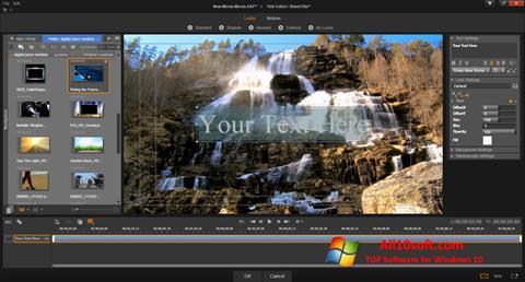 Captura de pantalla Pinnacle Studio para Windows 10