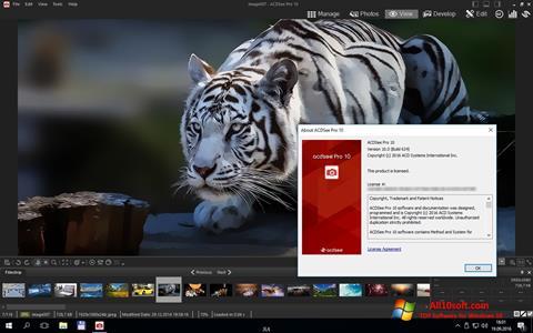 Captura de pantalla ACDSee Pro para Windows 10